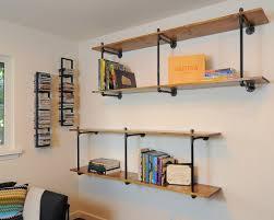 homemade bookshelves