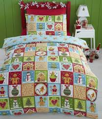 Patchwork Duvet Sets 16 Comfortable And Cozy Christmas Bedding Sets You Need Home