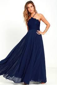 navy maxi dress stunning navy blue dress maxi dress halter dress lace dress