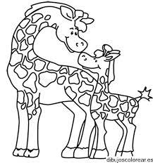 imagenes de jirafas bebes animadas para colorear paginas para colorear de jirafas dibujos para colorear jirafas bebes