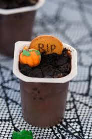 spooky graveyard pudding cups recipe not quite susie homemaker