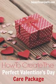 valentines ideas for how to create the valentines day care package