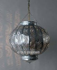 moroccan hanging lantern tin pendant light on designer pages