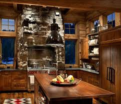 a family lodge in the montana mountains kitchens woods and cabin