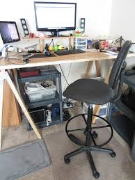 advantages of using a standing desk chair signin works