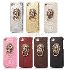 metal lion ring holder images 2018 new design case for iphone 7 7 plus cover luxury lion head jpg