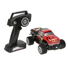 remote control monster truck videos eu original wltoys l343 1 24 2 4g electric brushed 2wd rtr rc