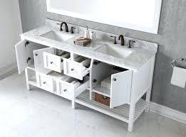 Bathroom Vanity 72 Double Sink Vanities 48 Double Sink Vanity Without Top White Double Sink