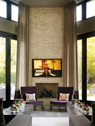 Floor To Ceiling Curtains High Ceiling Curtains Living Room Contemporary With Purple