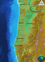 Map Of The Oregon Coast by Oregon Coastal Ocean Observing System Orcoos