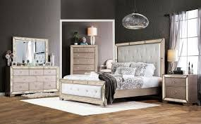 mirrored bedroom furniture also with a mirror night table also