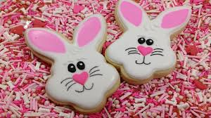 rabbit cookies how to decorate easter bunny cookies brookies cookies