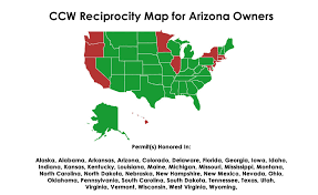 Concealed Carry Reciprocity Map K U0026p Arms