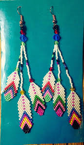mr t feather earrings 654 best beaded earings images on seed seed