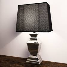 Schlafzimmer Lampe Silber Stehlampe Tischleuchte Keramik Silver Platet Silber Lampe Shabby
