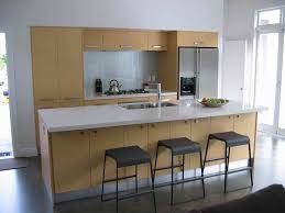 pin one wall kitchen designs simple design enclosed shelf one