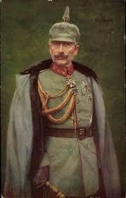 Kaiser Le Le Sultan Mehmed V De Turquie Salue Le Kaiser Wilhelm Ii à