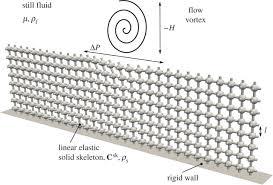 a computational continuum model of poroelastic beds proceedings