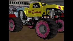monster truck show 2013 the simpsons truck at tampa freestyle 2nd show 2013 sim monsters