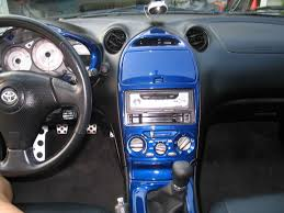 2002 Toyota Celica Interior Painting The Interior Celica Hobby