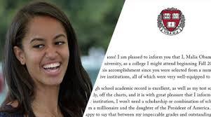 obama s unapologetically us malia obama is harvard university bound