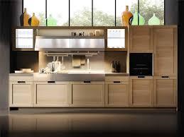 cuisine moderne bois massif cuisine cuisine contemporaine en bois massif avec ã lot