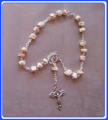 medjugorje rosary rr 0623 medjugorje rock peace chaplet rosary our s messages