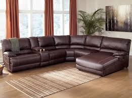 Power Sectional Sofa Sectional Sofas With Recliners Ferrara Leather Recliner