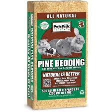 pet u0027s pick pine bedding 1200 cu in walmart com