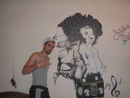 dessin mural chambre voici un graffiti sur un des mur de ma chambre de