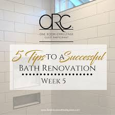 fall 2017 one room challenge guest participants week fall 2017 one room challenge week five successful bathroom