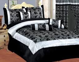 Black And Purple Bed Sets Bedroom Black And Grey Bed Sets Black Red And White Comforter