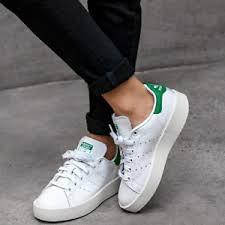 adidas stan smith women adidas stan smith bold women s shoe lifestyle comfy sneaker white