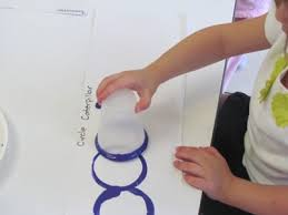 we made caterpillars in preschool teach preschool