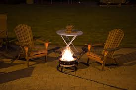 Propane Patio Fire Pit by Garagemate Heininger 5995 58 000 Btu Portable Propane Outdoor Fire
