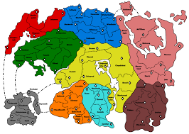 Basic World Map by I Made A Basic Svg Risk Game Board Of Tamriel If Anyone Is