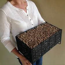 amazon com pellet basket alternative heating source using wood