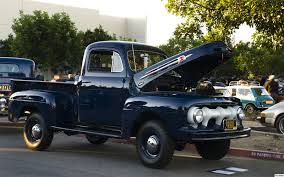 Antique Ford Truck Club - 1952 ford f 1 pickup with marmon harrington 4x4 adaptation navy