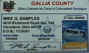 how to get a concealed handgun license in ohio northcoast
