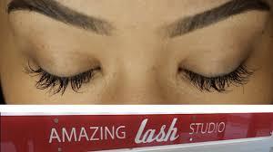 my first eyelash extension experience u2022 amazing lashes youtube