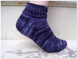 free sock knitting pattern for beginner u0027s freshstitches