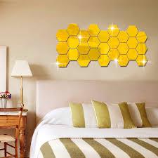 aliexpress com buy fundecor 3d three dimensional hexagonal
