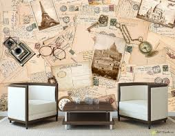 retro wallpaper vintage wall murals letter in vintage style retro wallpaper vintage wall murals letter in vintage style