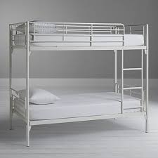 White Metal Bunk Bed Buy Silentnight Oscar Metal Bunk Bed White At Johnlewis
