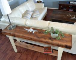 Wood Sofa Table by Welcome To Kreate Home By Kreatehome On Etsy