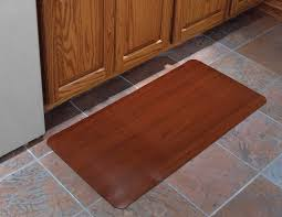 decor wonderful cushioned kitchen mats with stunning color for