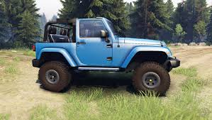 jeep rubicon blue wrangler blue for spin tires