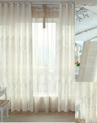 White Patterned Curtains White Patterned Curtains Homesfeed