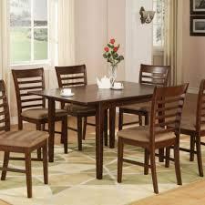 kitchen gorgeous dark brown kitchen table and chairs set ideas