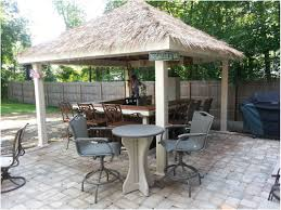 outdoor entertainment furniture backyard designs image with